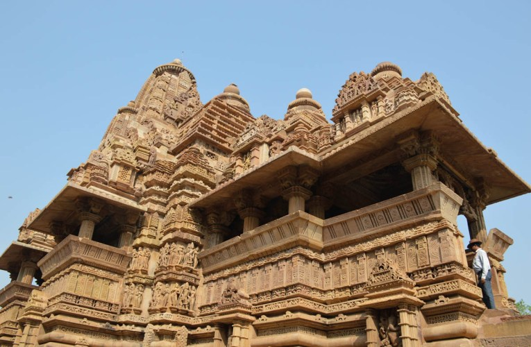 Khajuraho stone temples of India