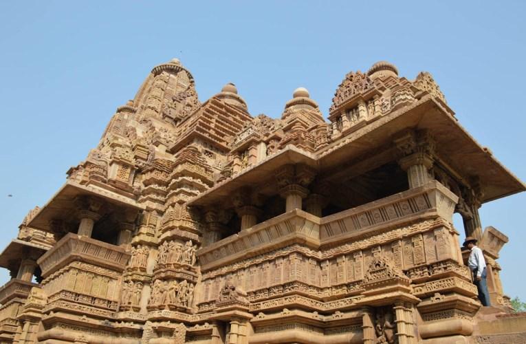 Khajuraho stone temples of India
