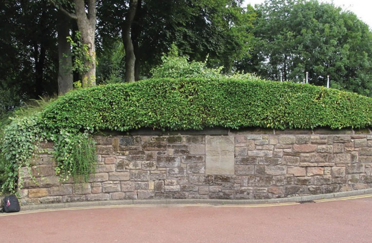 Urban geology: The Worsley Park wall game, Manchester