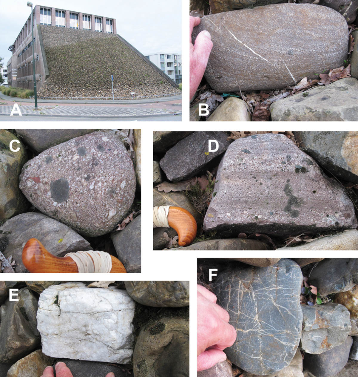 Urban geology: the Boxtel wall game
