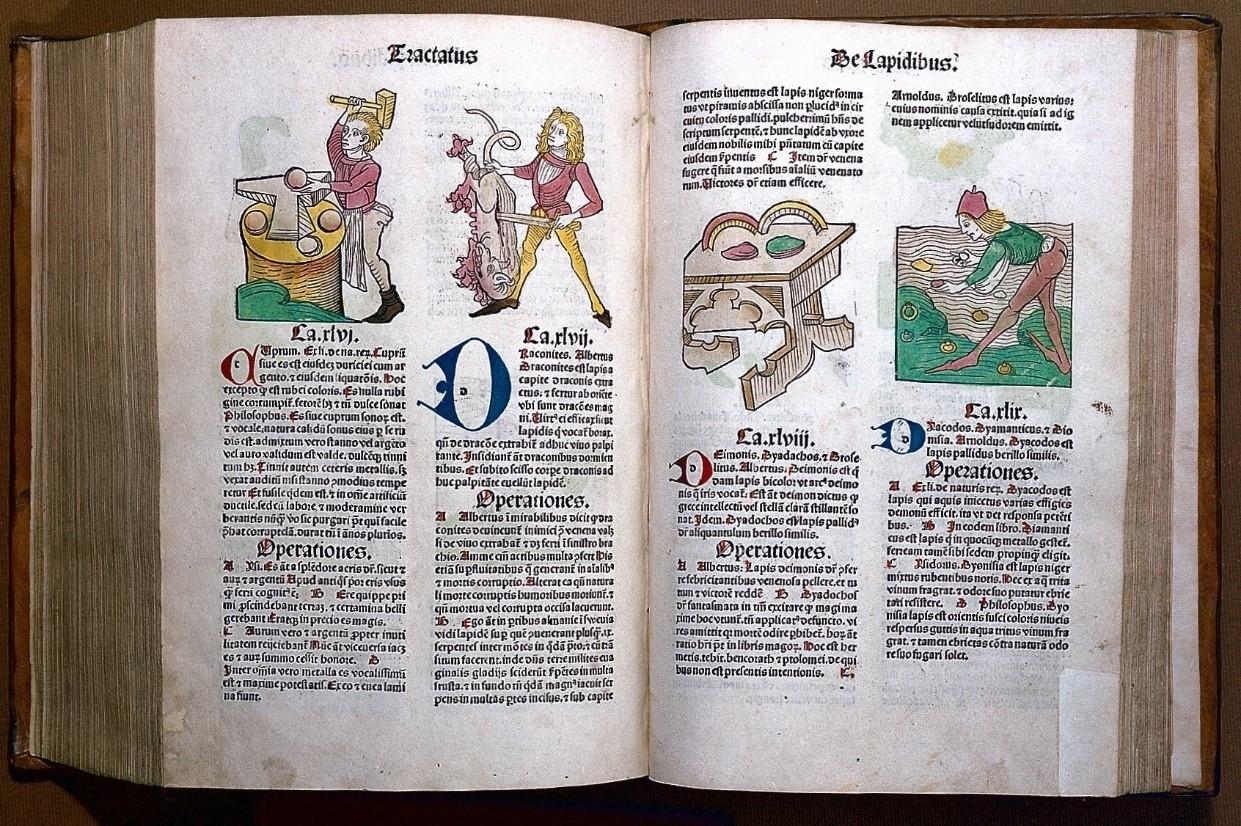 Fifteenth century magico-medicinal minerals