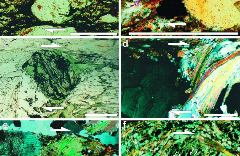 Shear zones: Natural laboratories of rock deformation and mineral alteration