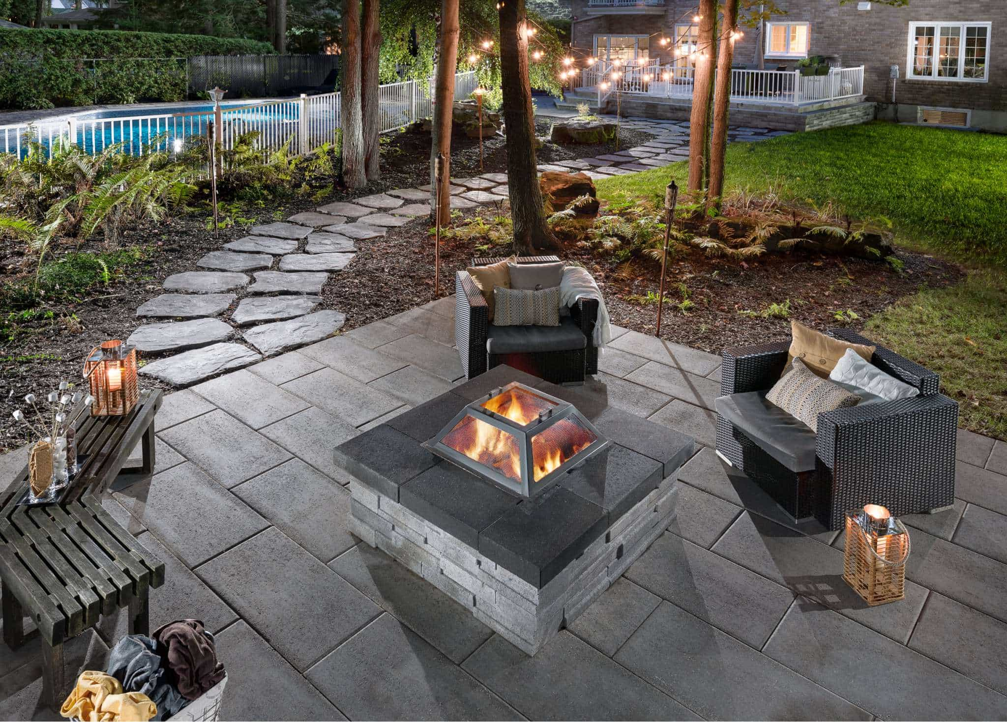 creating a paver patio