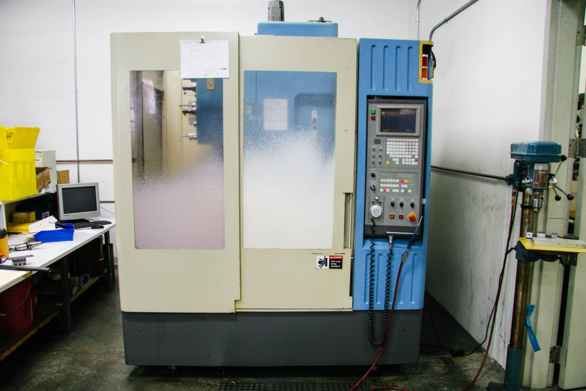 Machine Shop - CNC Machine