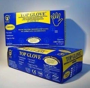 Guantes de Latex Top Glove XS