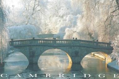 Betsy went to Cambridge, England.