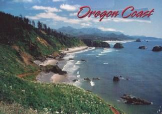 Celeste went to the Oregon Coast.