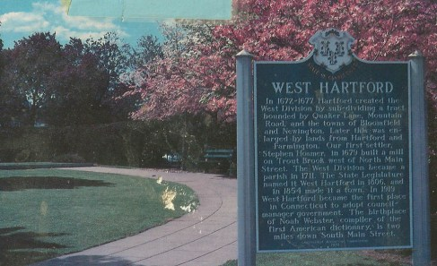 Rebecca went to West Hartford, Connecticut.