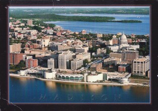 Rebecca went to Madison, Wisconsin.