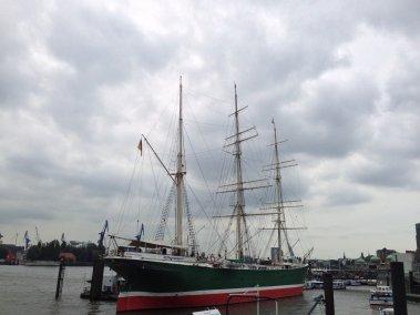 Barco museo Rickmer Rickmers