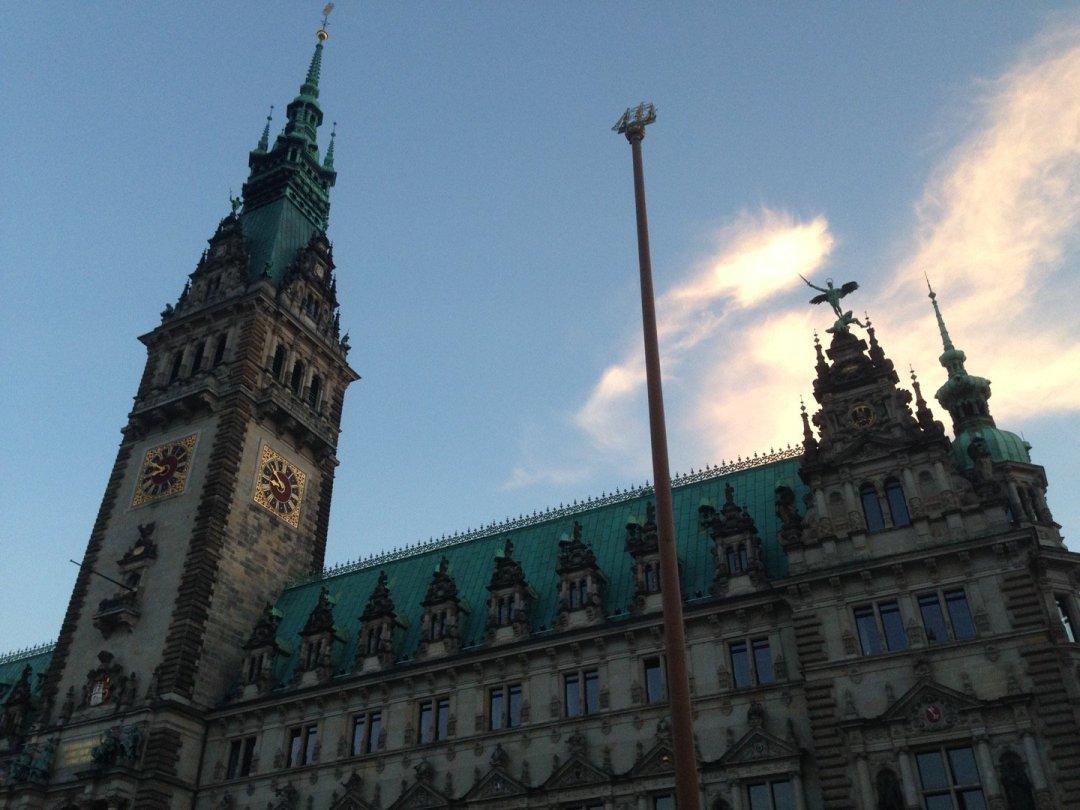 Ayuntamiento de Hamburgo.