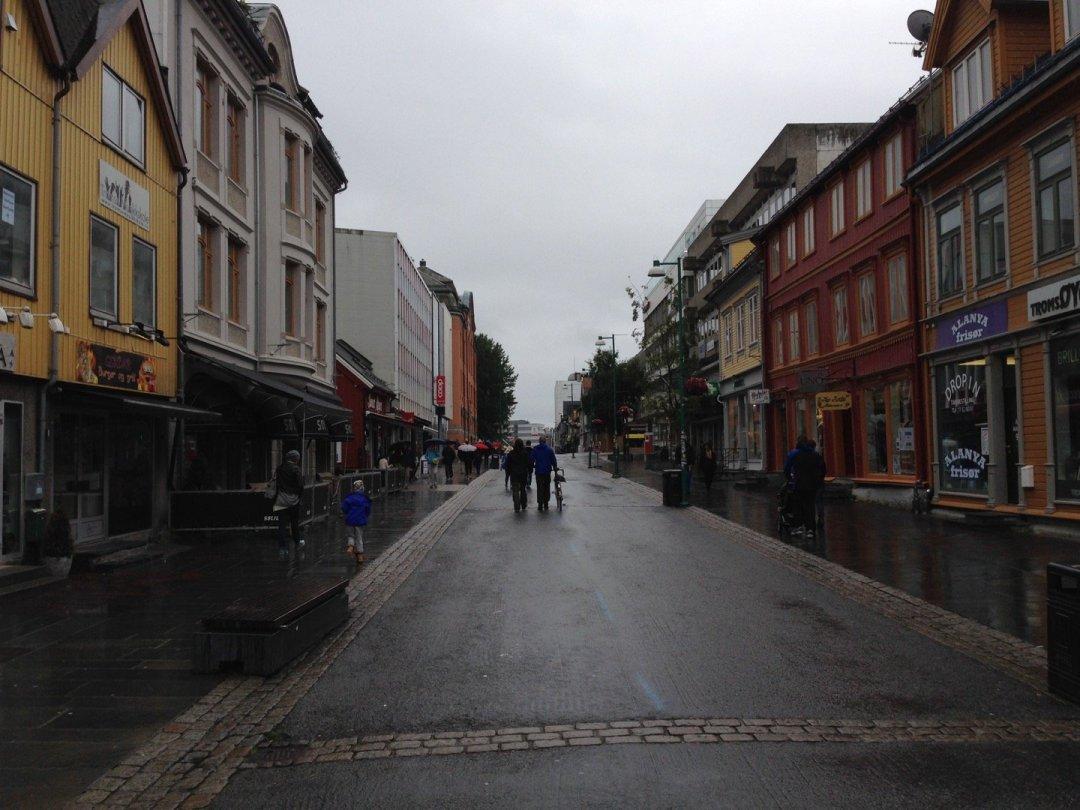 Storgata en Tromsø