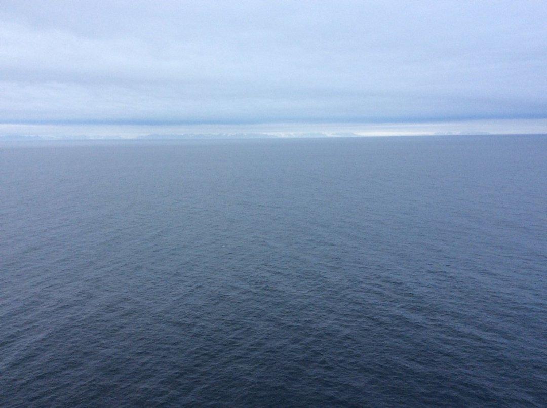 Avistando Spitzbergen