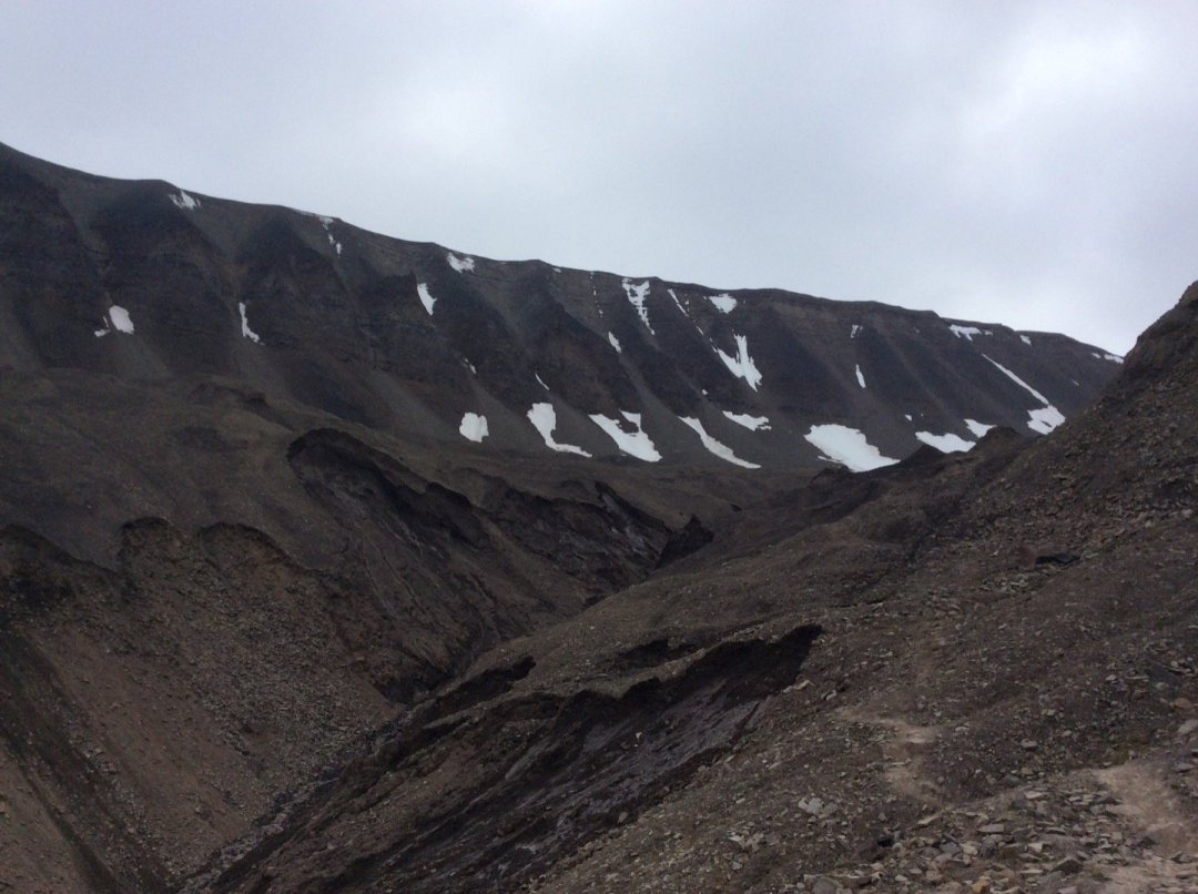 Camino al Larsbreen