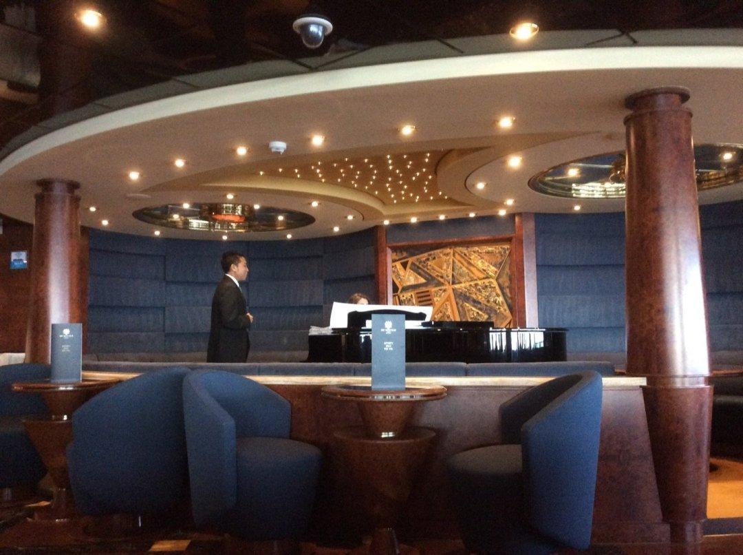 Musica en el Top Sail Lounge