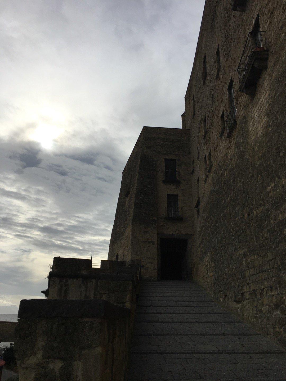 Entrada al Castel dell'Ovo