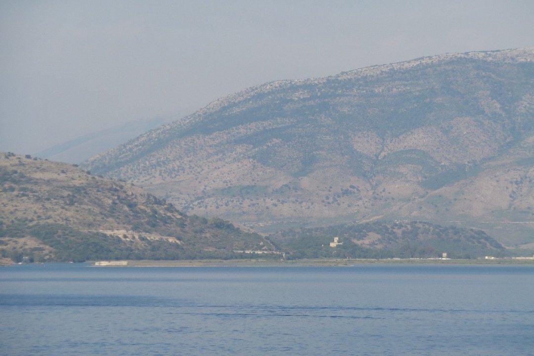 Butrint desde el mar
