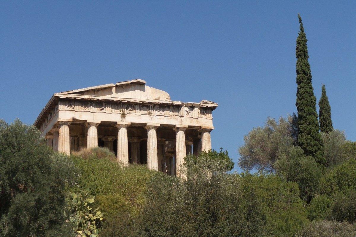 Un paseo por el Ágora de Atenas