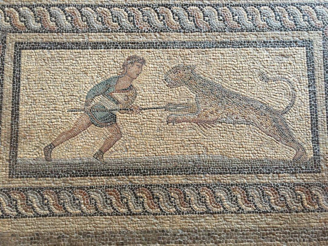 Mosaico procedente de Kos