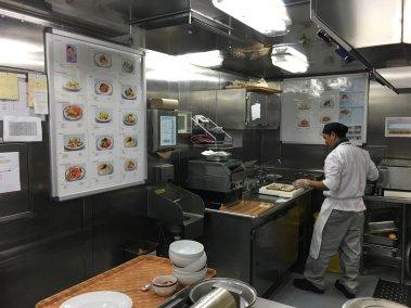 Cocina del MS Eurodam