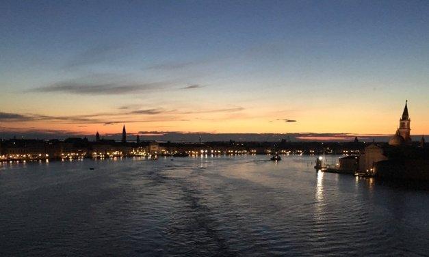 Desembarcando en Venecia