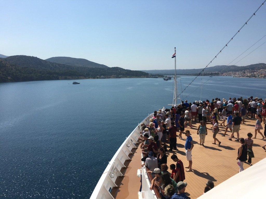 Llegando a Argostoli