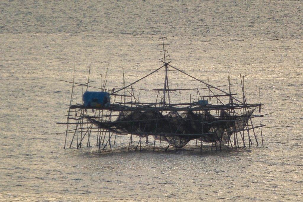 Bagang de la bahía de Manila