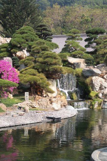 Detalle de los jardines de Nan Lian