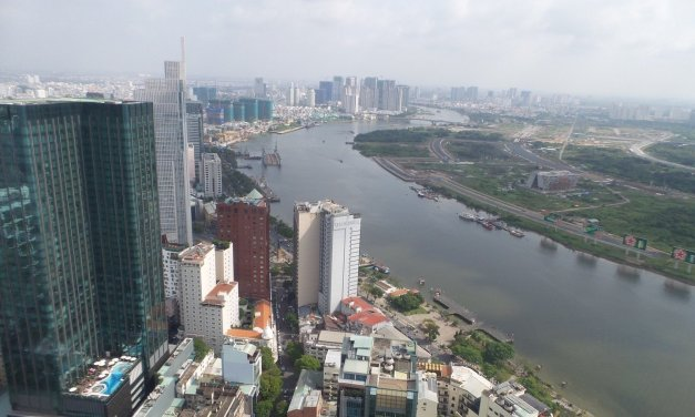 Paseando sin rumbo por Saigón