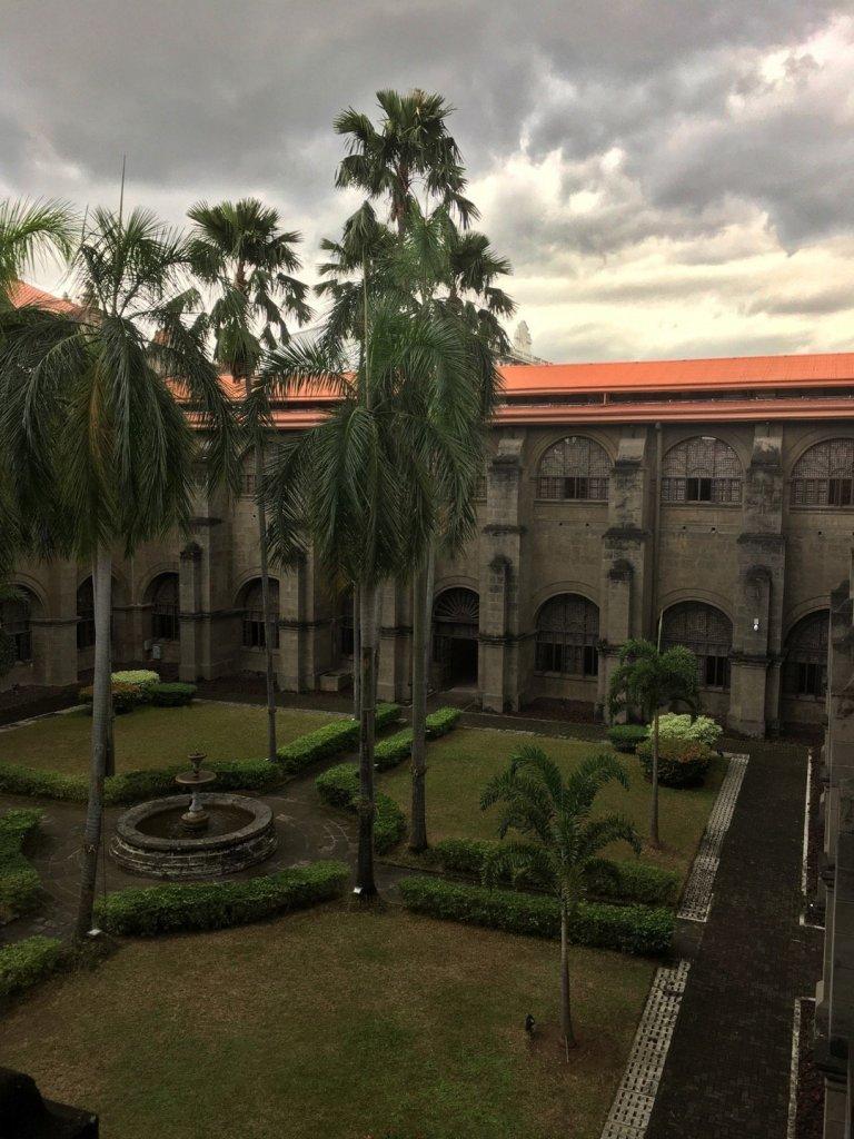 Jardin del claustro de San Agustín