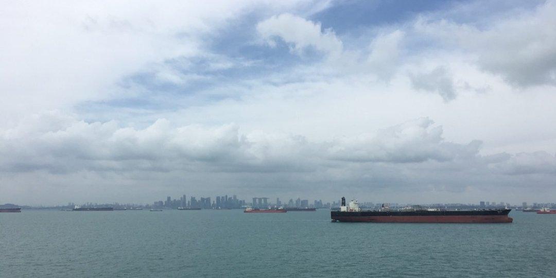 Llegando a Singapur