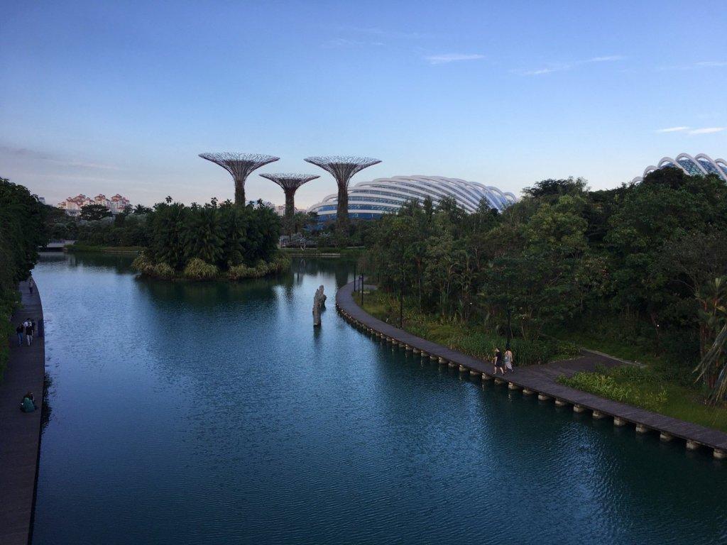 Silver Garden desde Dragonfly Bridge