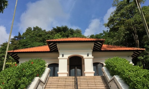 Un paseo por Fort Canning Hill