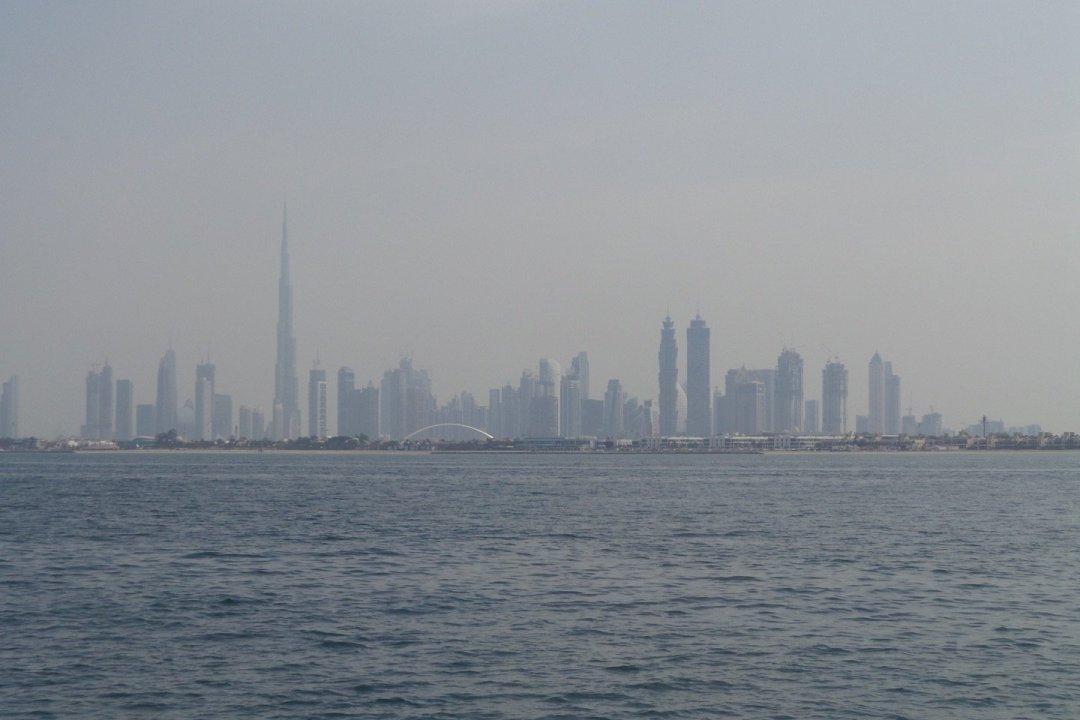 Skyline de Dubai