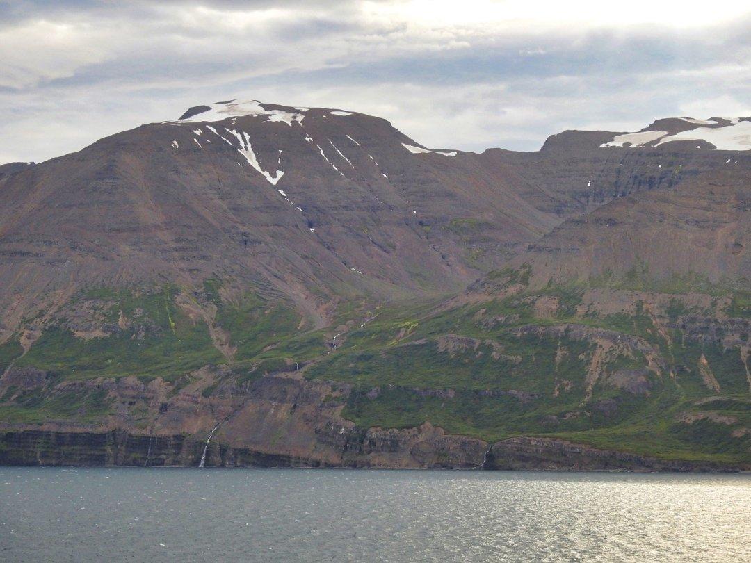 Costa oriental del Eyjafjörður