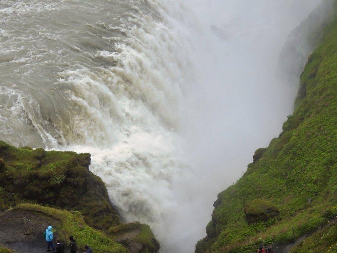 Cascada inferior de Gullfoss