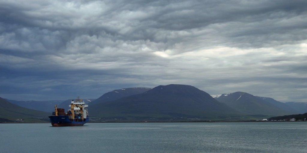 Tramo final del Eyjafjörður