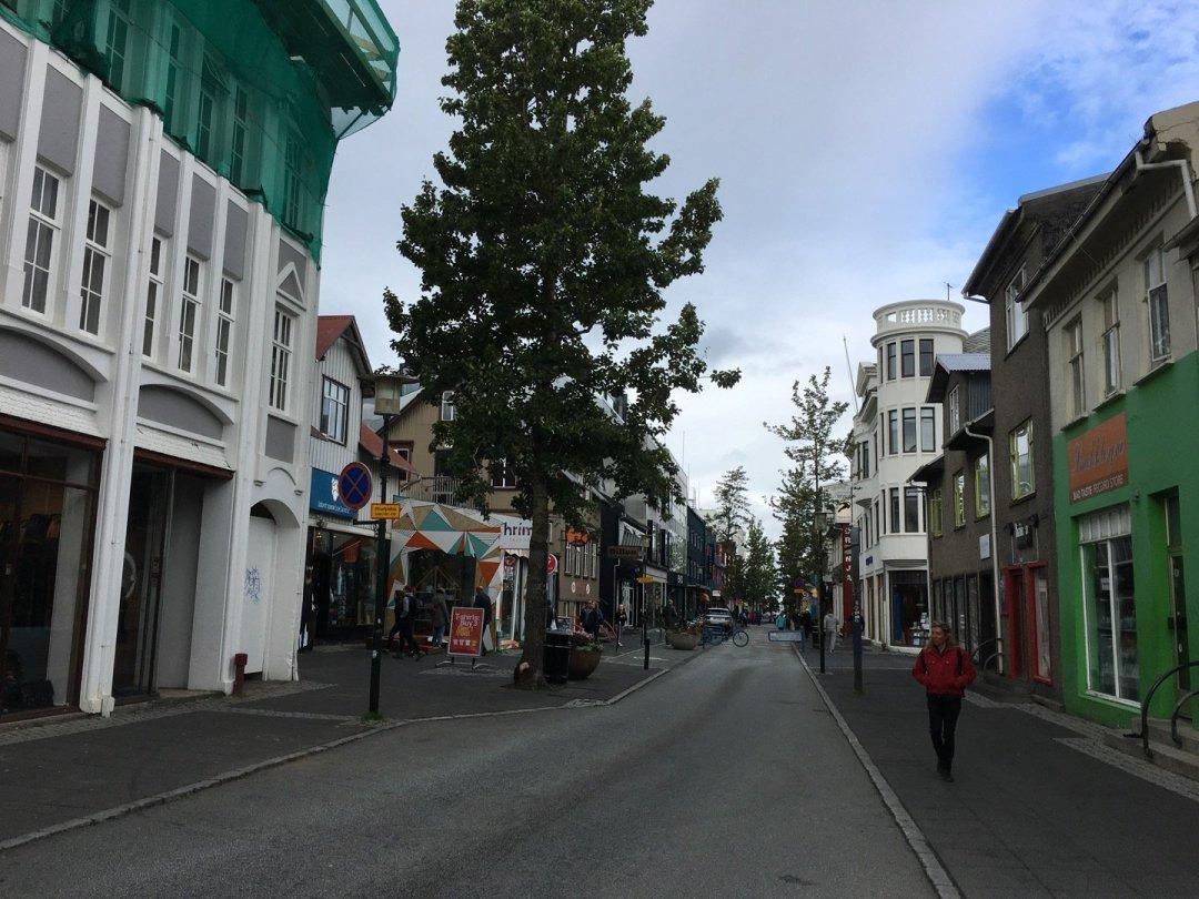 Calle Laugavegur