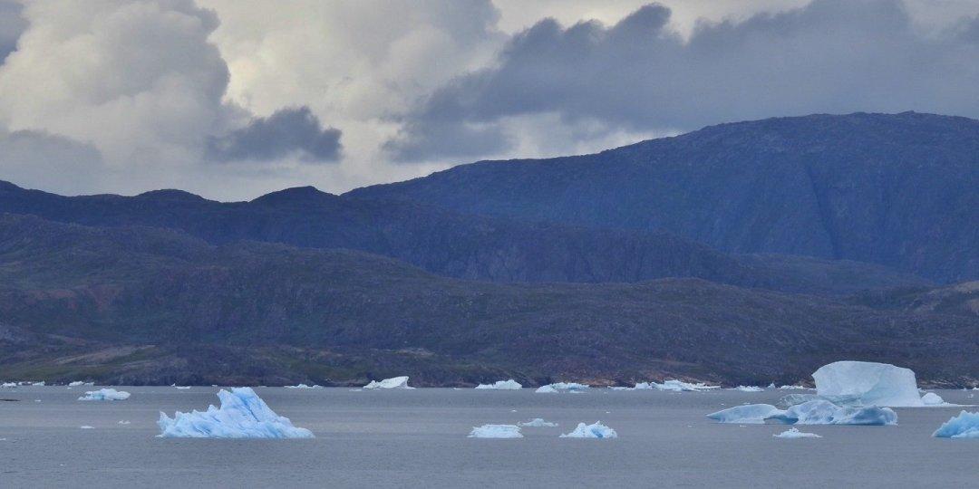 Icebergs en el fiordo Ikersuaq