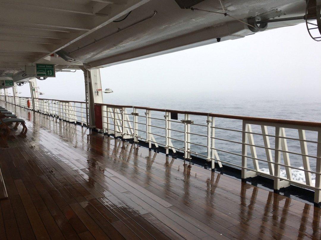 Niebla en el mar de Irminger