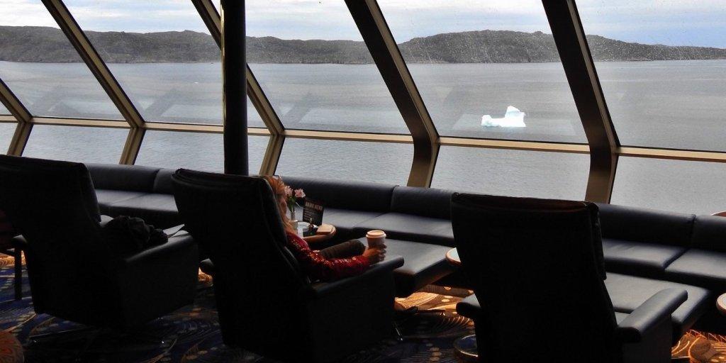 Un cappuccino entre icebergs