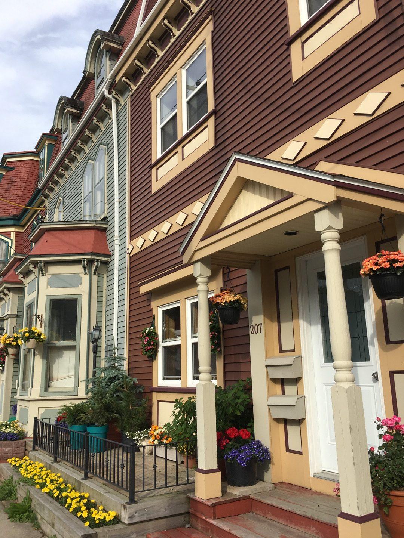 Casas de madera de St. John's