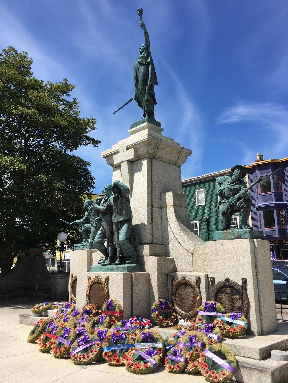 Monumento a los caídos en la Gran Guerra