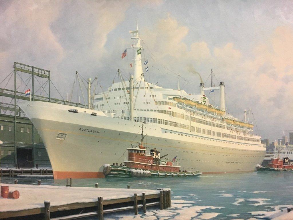 El antecesor del MS Rotterdam