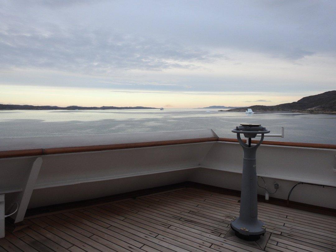 Vista desde la cubierta 8 del MS Rotterdam