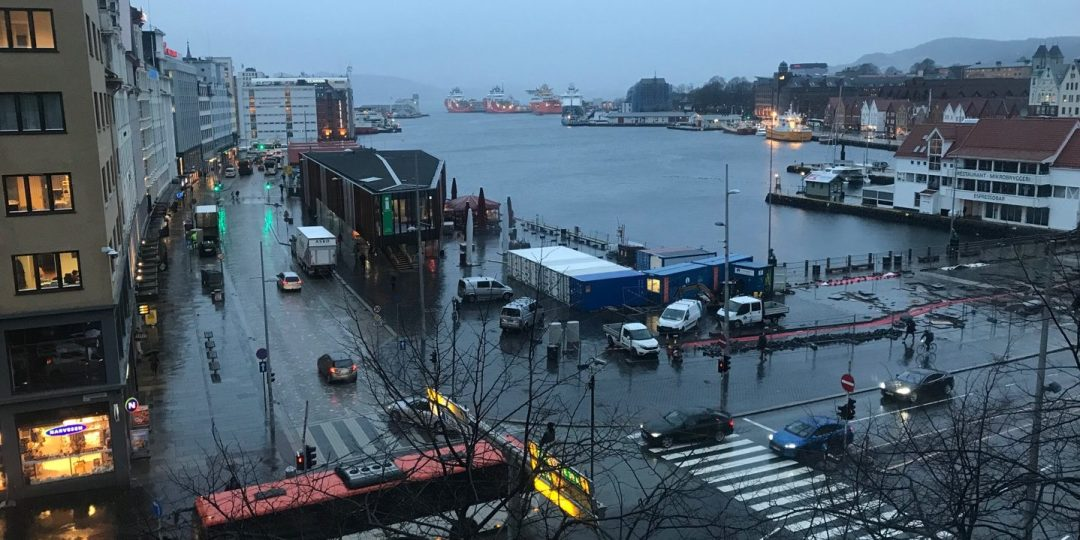 Vågen desde el hotel Børs