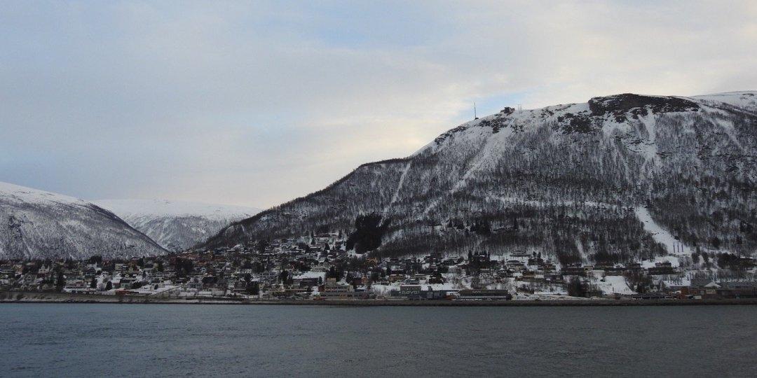 El Storsteinen desde Tromsø