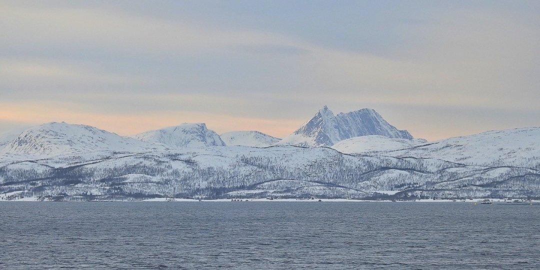 En el fiordo de Malangen
