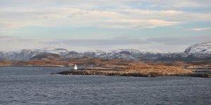 Frente a la isla de Skjørøya
