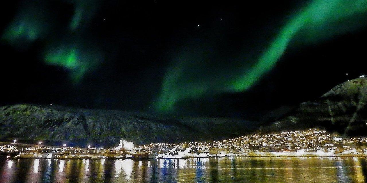 Aurora boreal en Tromsø